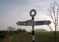 Signpost to Alresford